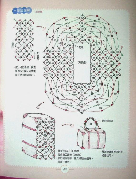 Как с бисера сделать сумочку