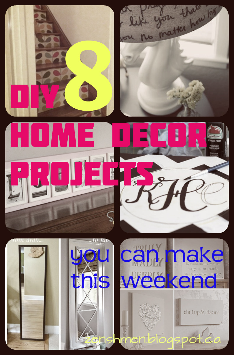 Diy home decor project.