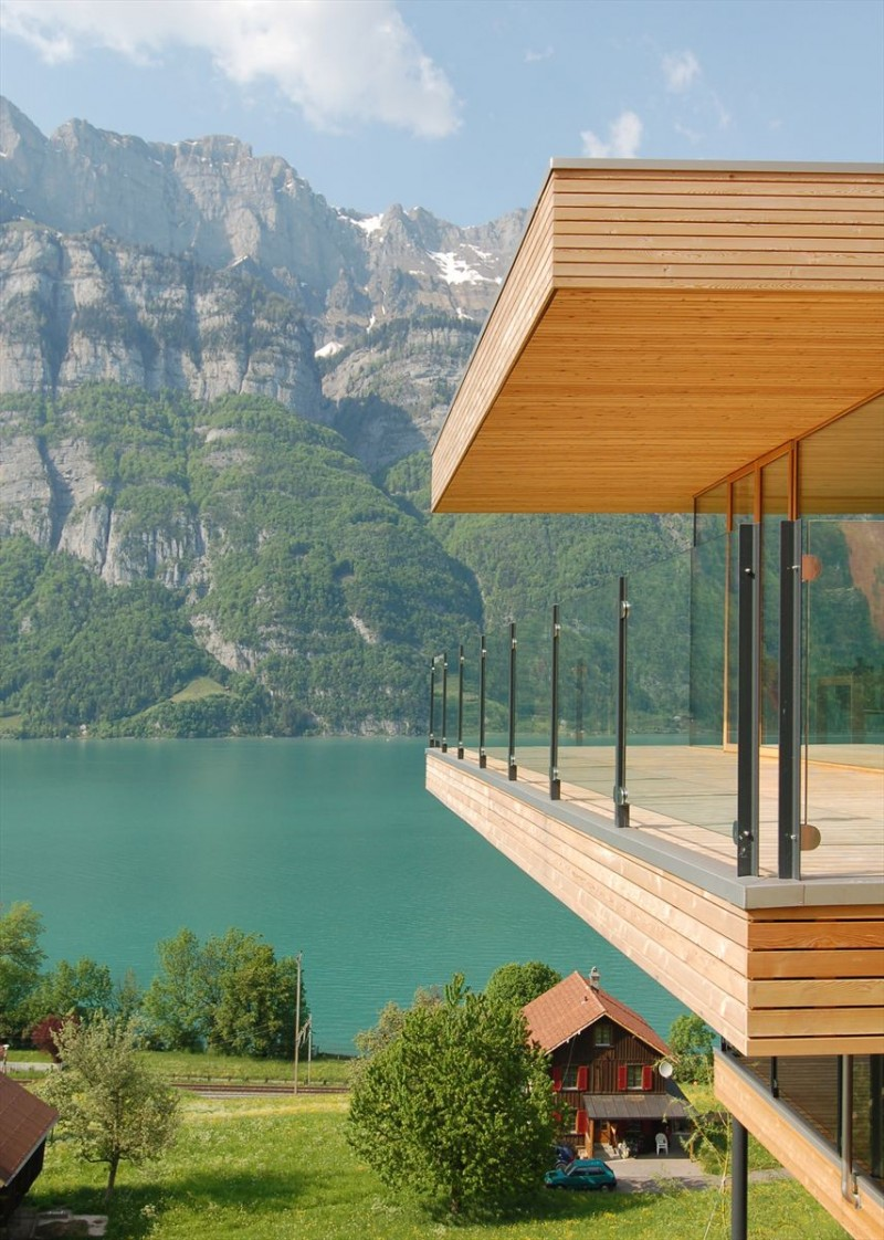 Fantastic Lakeside Home in Switzerland ~ Interiors and Design Less ...