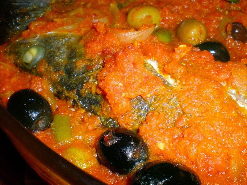 Recette des poissons au four à la tunisienne