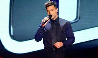 Ricky Martin canta Disparo al Corazón LA-VOZ