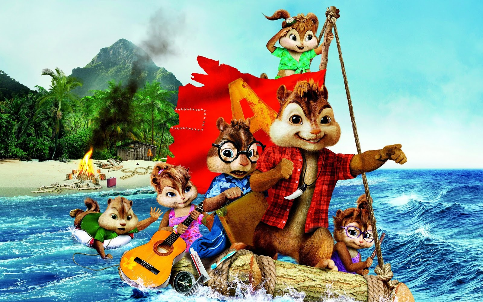 2020 Alvin and the Chipmunks Squeakquel HD Wallpapers