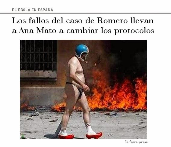 """Ana Mato"",""ministra"",""ébola"",""sanidad"",""protocolos"",""auxiliar"",""enfermería"",""Romero"",""Carlos III"",""España"".""Is Pain"""