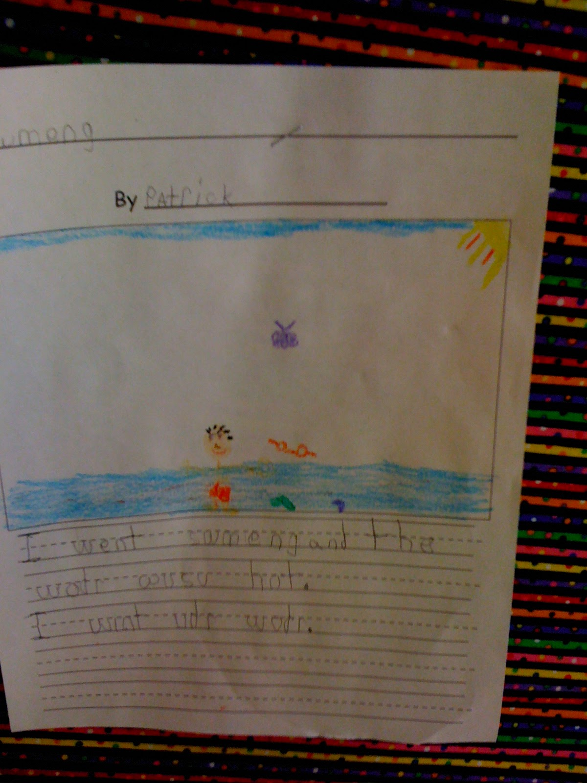 a personal narrative of a summer search student Writing a personal narrative introduces your students to the magic of storytelling here are three easy, enjoyable lessons that guide your students in creating.