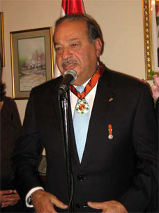 Rahasia Bisnis Sukses Carlos Slim Helu Orang Terkaya di Dunia