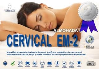 Almohada cervical Ivorimatex segundo puesto