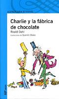 """Portada del libro """"Charlie y la fábrica de chocolate"""", de Roald Dahl"""