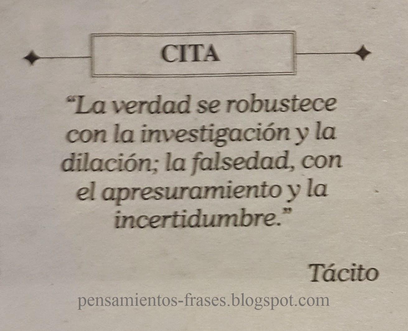 frases de Tácito