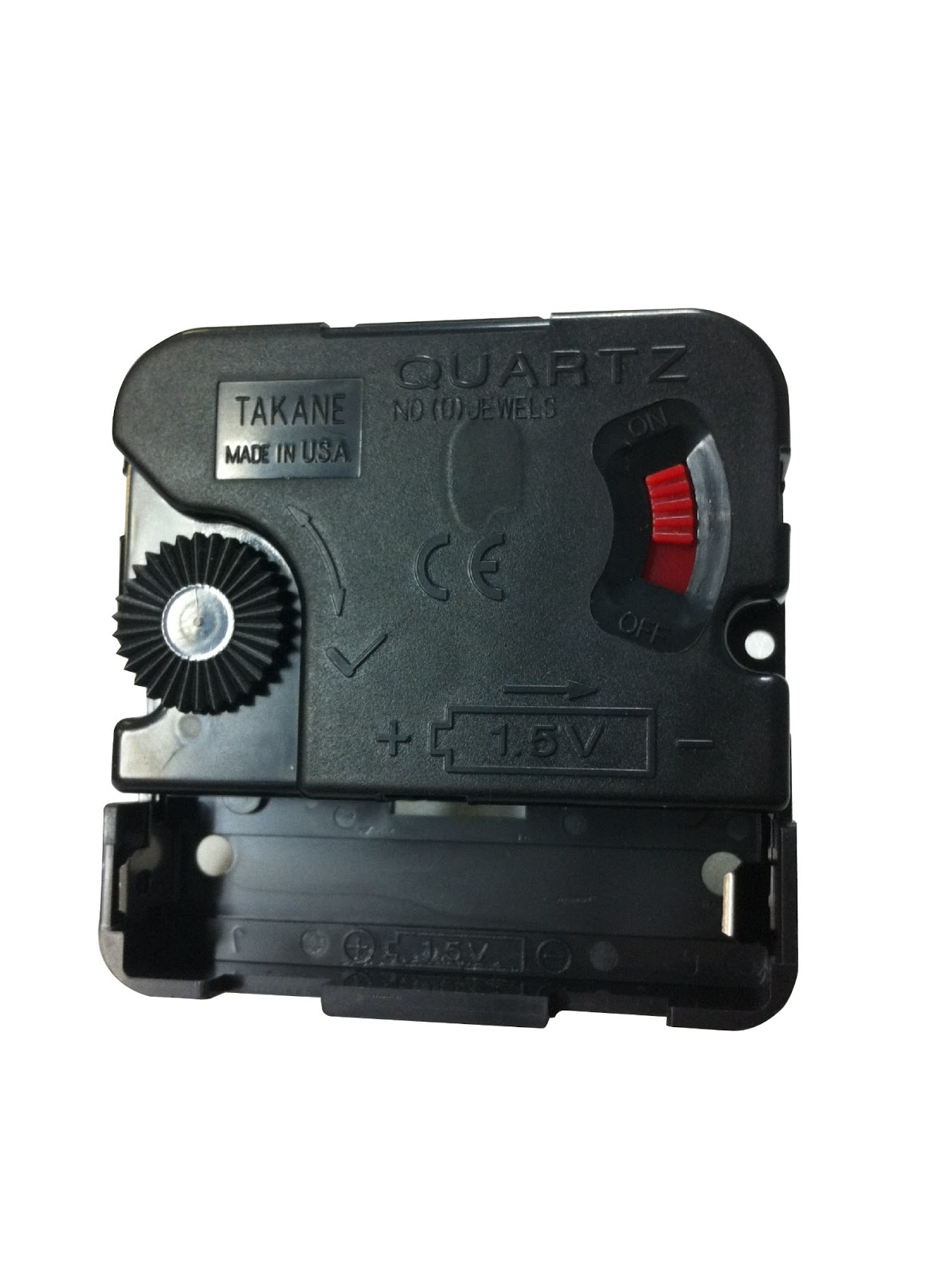 Clockparts first time clock repair before you can begin the process of putting a new battery operated movement into your clock case you will need to remove the clock amipublicfo Images