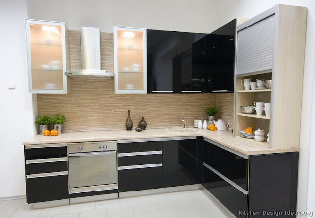 Idees de remodelage petite cuisine moderne caen 37 design - Decoration petite cuisine ...