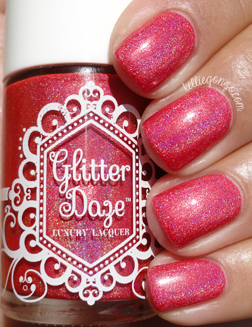 GlitterDaze Red Hot Rays