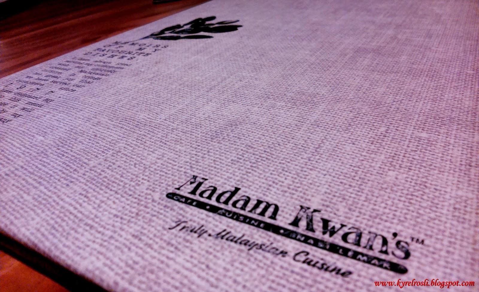 Madam Kwan's Truly Malaysian Cuisine