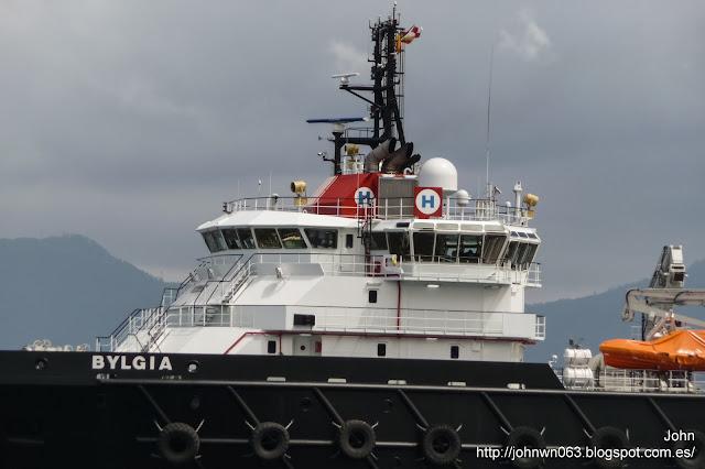 bylgia, armón, puerto de vigo