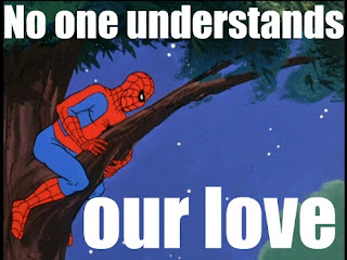 spiderman love