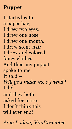 The Poem Farm Puppets And A Poetry Peek
