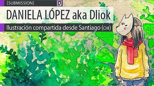 Ilustración. Mori de DANIELA LÓPEZ aka Dliok