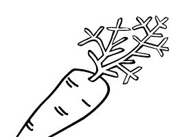 Fruits And Vegetables Coloring Pages Printable