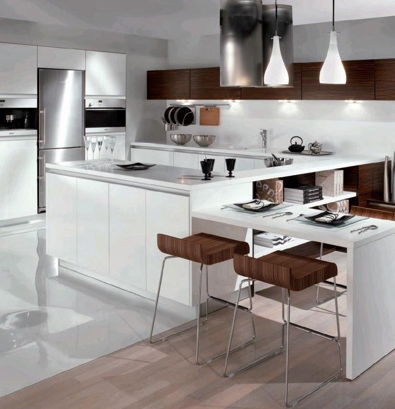 Desain dapur minimalis cantik model rumah terbaru - Pyram cuisine ...
