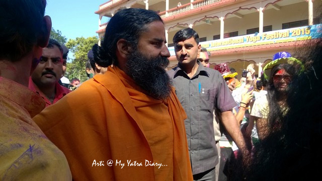 Baba Ramdev - International Yoga Day, Parmarth Niketan, Rishikesh