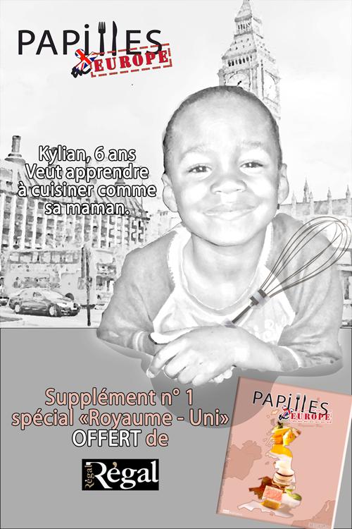 Affiche presse Régal