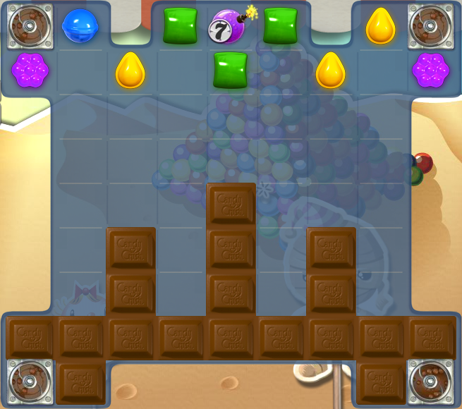 Candy Crush Tips Level 120 Doel Van Candy Crush Level 120 Verwijder