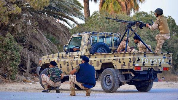 متابعة مستجدات الساحة الليبية - صفحة 2 Rival%2Bmilitias%2Bfight%2Bfor%2BLibya's%2BBenghazi