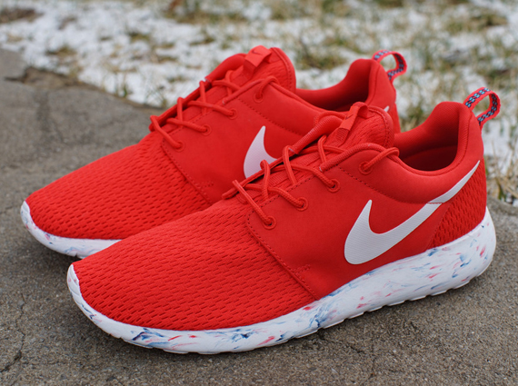 Nike Roshe Run Marble   Challenge Red   SneakerNews