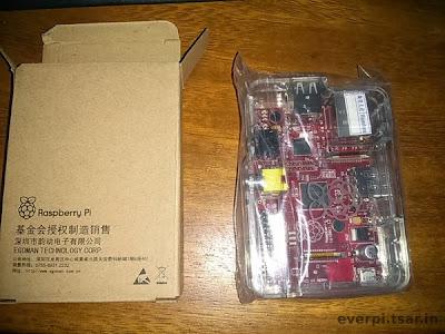 Raspberry Pi fora da caixa