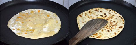how to prepare mixed veg paratha