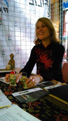 Marie-Gabrielle Dunoyer au forum des associations Rouen 2015