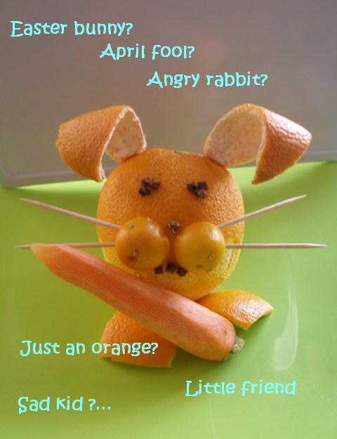 how to cut orange garnish