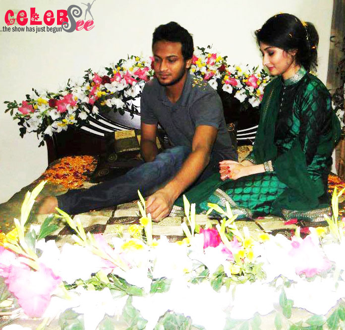 Images of Shakib Hasan Cricketer And Umme Shishir Ahmed Wedding