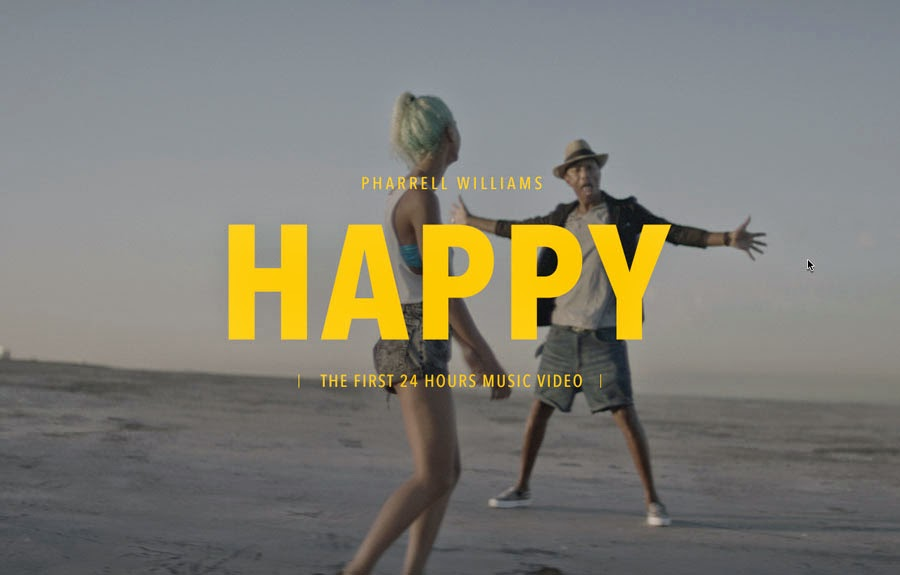 pharrell williams happy 24 hours