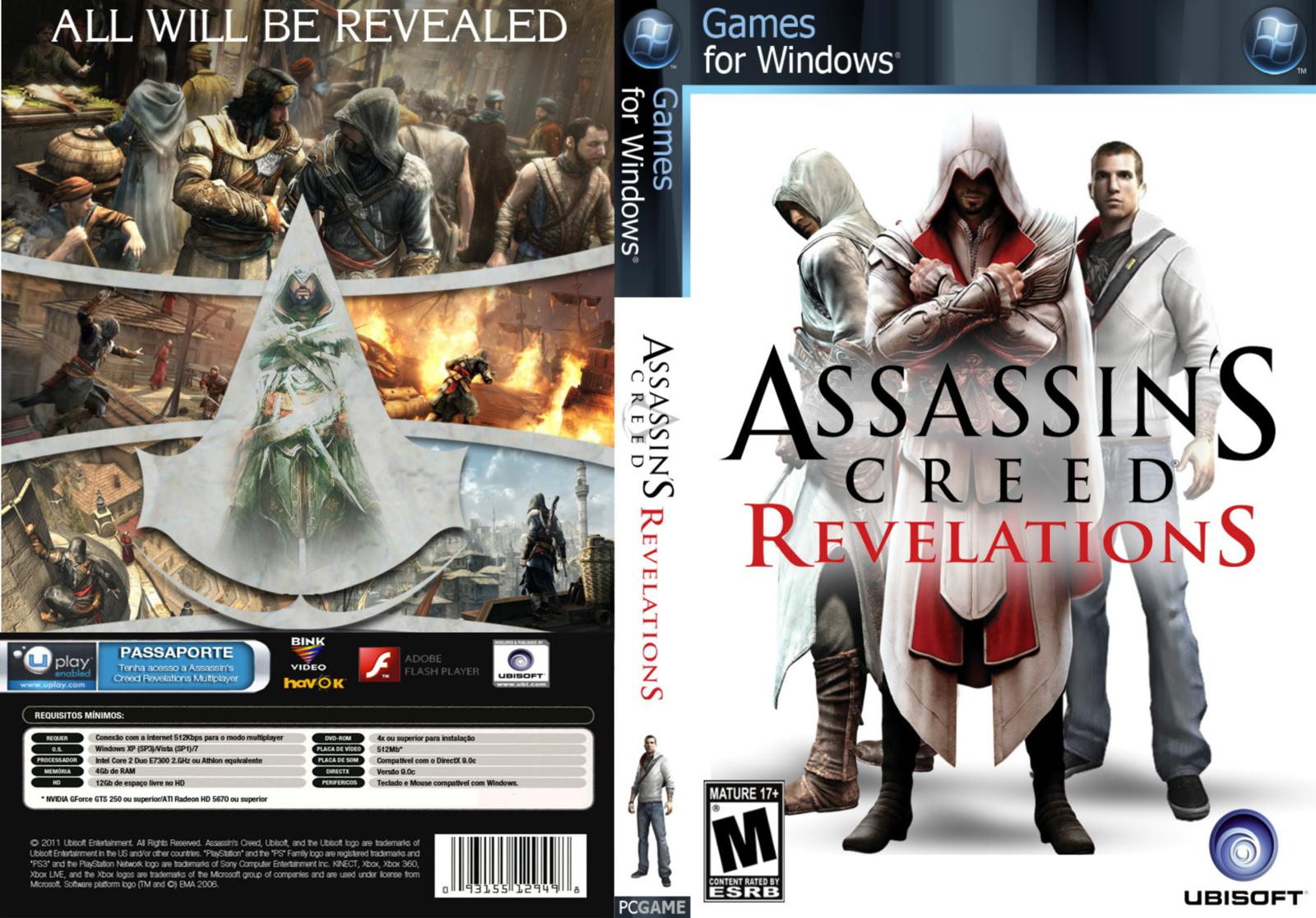 Capa Assassins Creed Revelations PC
