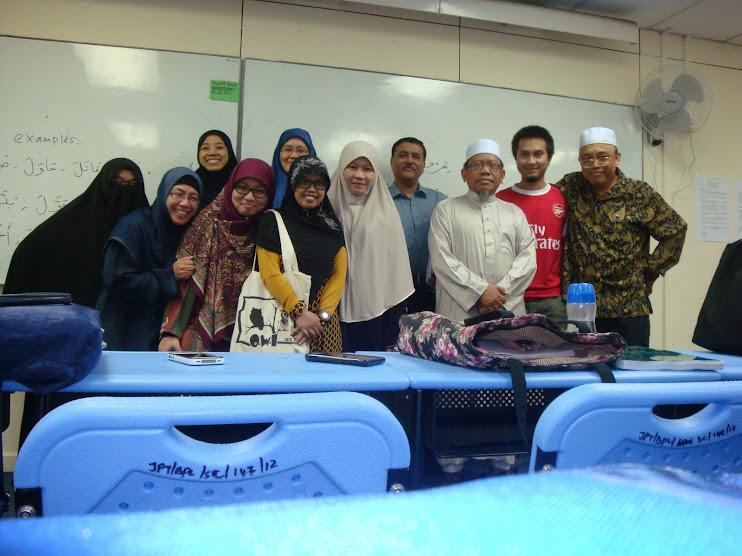 Suhaini Hassan his Arabic Classmates