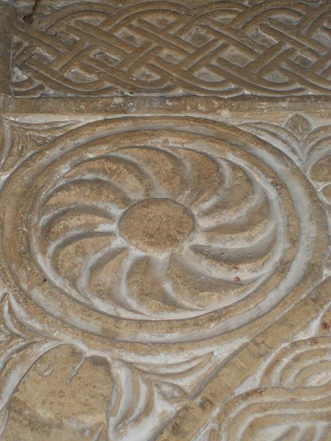 Girandola Longobarda nella Pieve di San Giorgio di Valpolicella a Sant'Ambrogio (Verona)