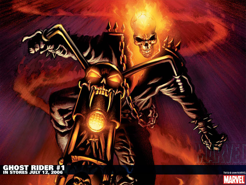 GHOST RIDER 2 HD WALLPAPERS