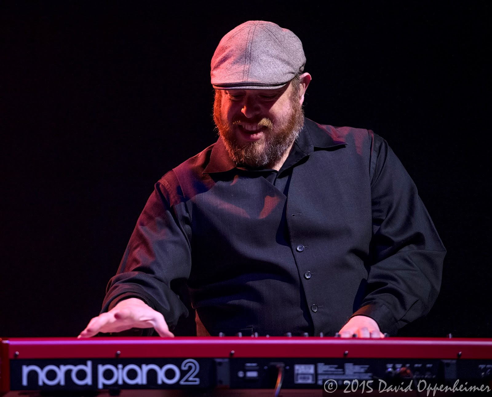 Peter Levin performing with Gregg Allman