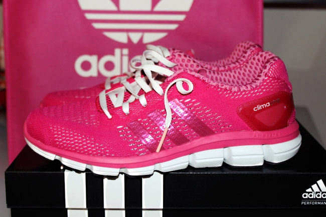 Adidas Climachill woman's running shoes (fuchsia color). Adidas Climachill patike za trcanje. Adidas Climachill line. Best running shoes for woman.