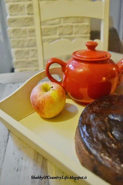 Torta di mele che si scioglie in bocca con copertura al toffee!! - shabby&countrylife.blogspot.it