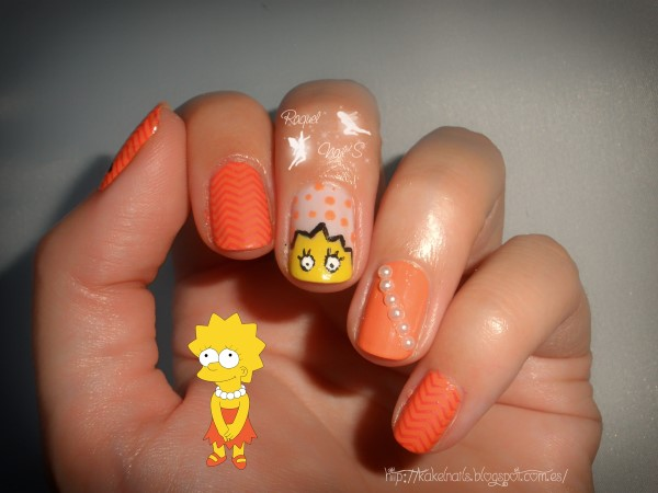 Nails Lisa Simpsons