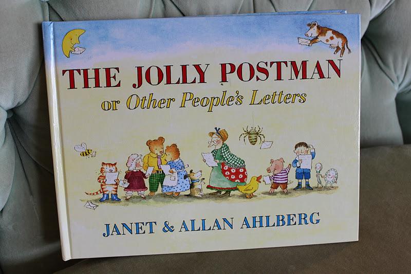 The marlowe bookshelf the jolly postman the jolly postman spiritdancerdesigns Images