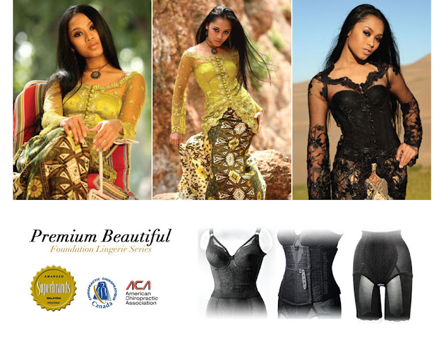 Premium Beautiful, Kelebihan Dan Kebaikan, Long Bra, Waist Nipper, Long Girdle, Lifetime Warranty, Ramping, Cantik, Kurus, Superbrand