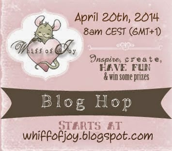April Blog Hop Whiff of Joy