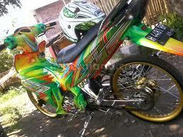 gambar airbrush motor yamaha mx