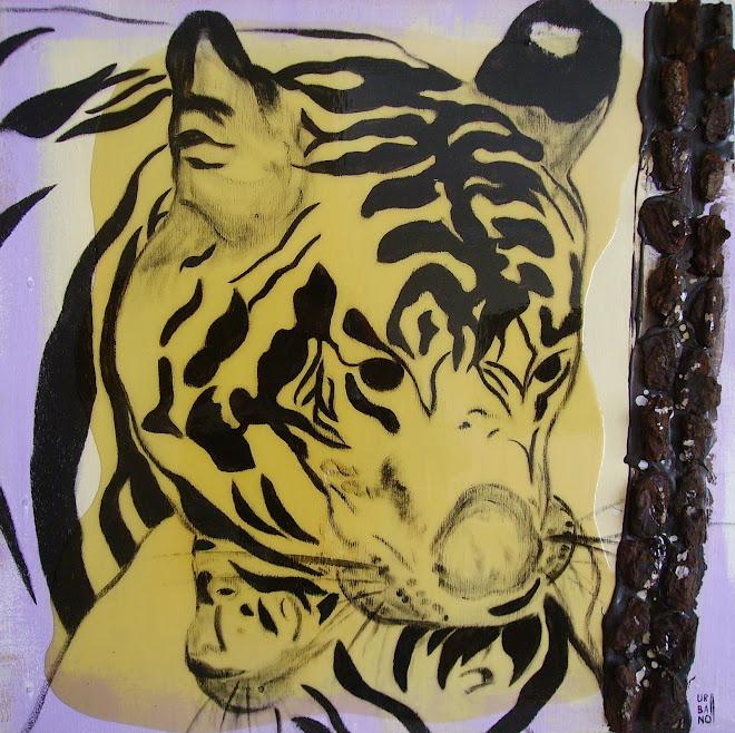 Let's go my Baby Tiger by Francisco Urbano