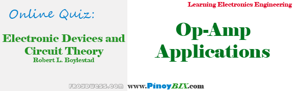 Practice Quiz in Op-Amp Applications