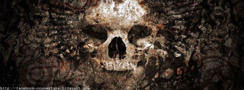 Couverture tete de mort