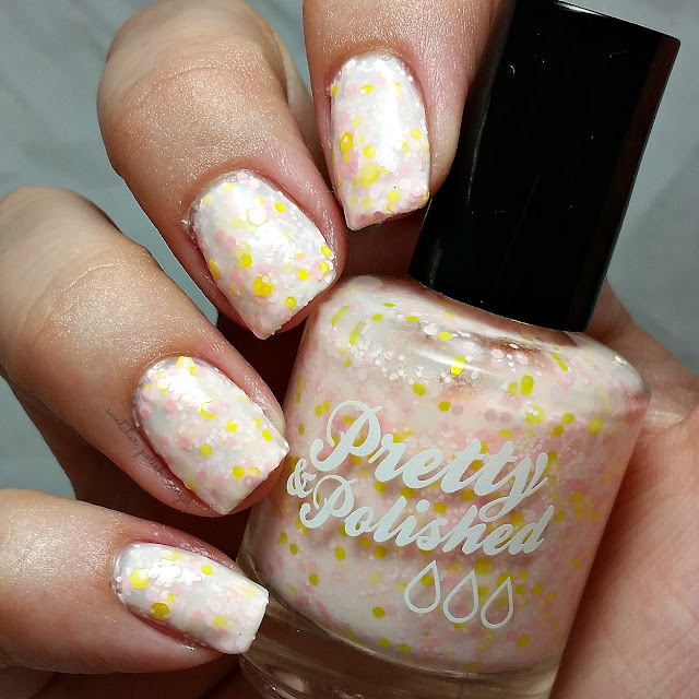 swatcher, polish-ranger | Pretty & Polished Strawberry Lemon Ice swatch
