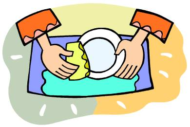 clipart wash dishes | Logo More